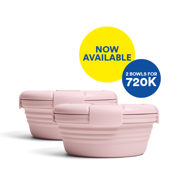 Good things comes in pairs. Bundle & Save for Carnation Bowl