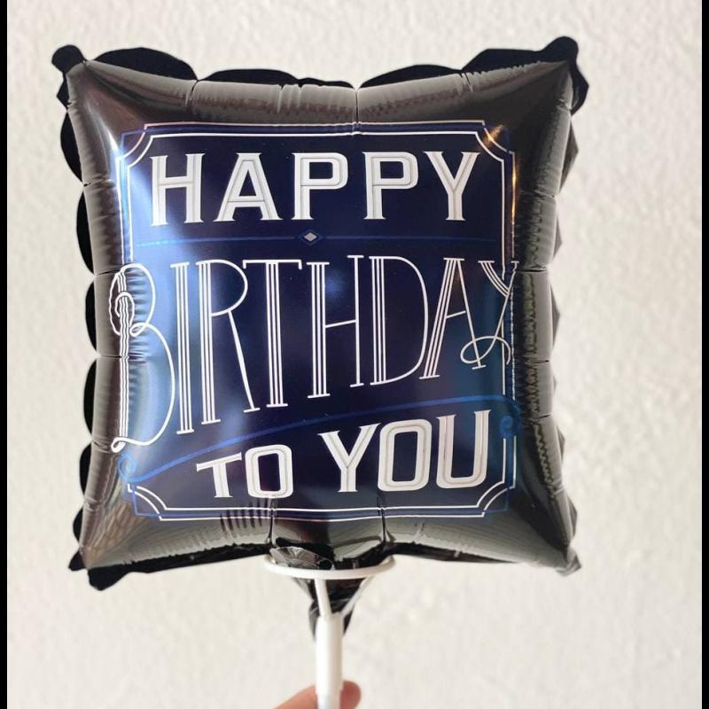 TOPPER HAPPY BIRTHDAY (GOLD) - RARA KITCHY