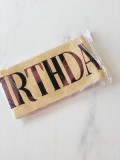 SLING HAPPY BIRTHDAY GIRL (GOLD) - RARA KITCHY