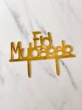 TOPPER EID MUBARAK (GOLD) - RARA KITCHY