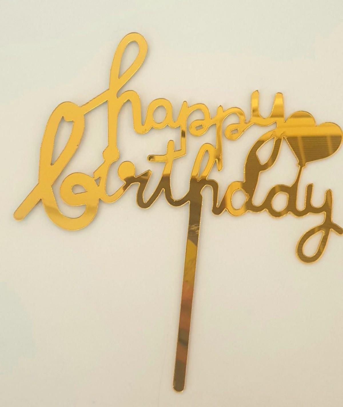 TOPPPER HAPPY BIRTHDAY (LOVE) - RARA KITCHY