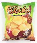 KUSUKA CASSAVA CHIPS - BBQ 180G - Kanpeki