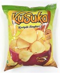 KUSUKA CASSAVA CHIPS - CHEESE BURGER 180G - Kanpeki