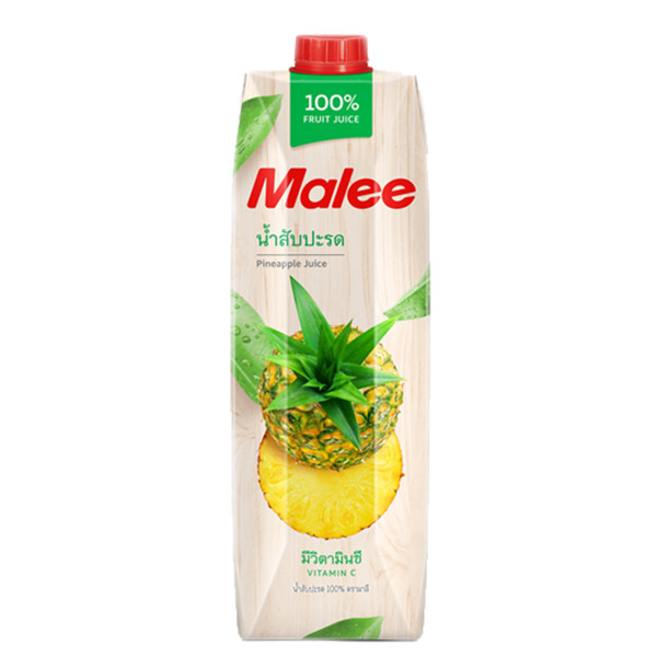(MALEE) F.JUICE (PINEAPPLE) 1L - Kanpeki