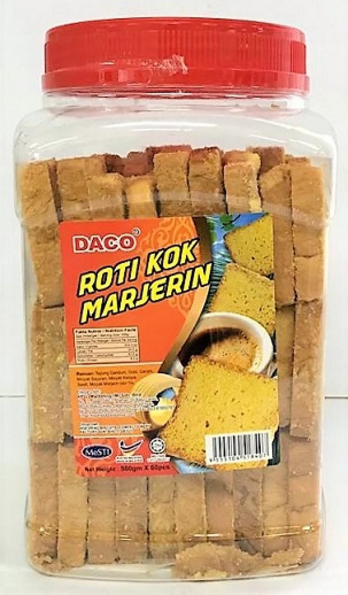 DACO 60'S ROTI KOK MARJERIN 500G - Kanpeki