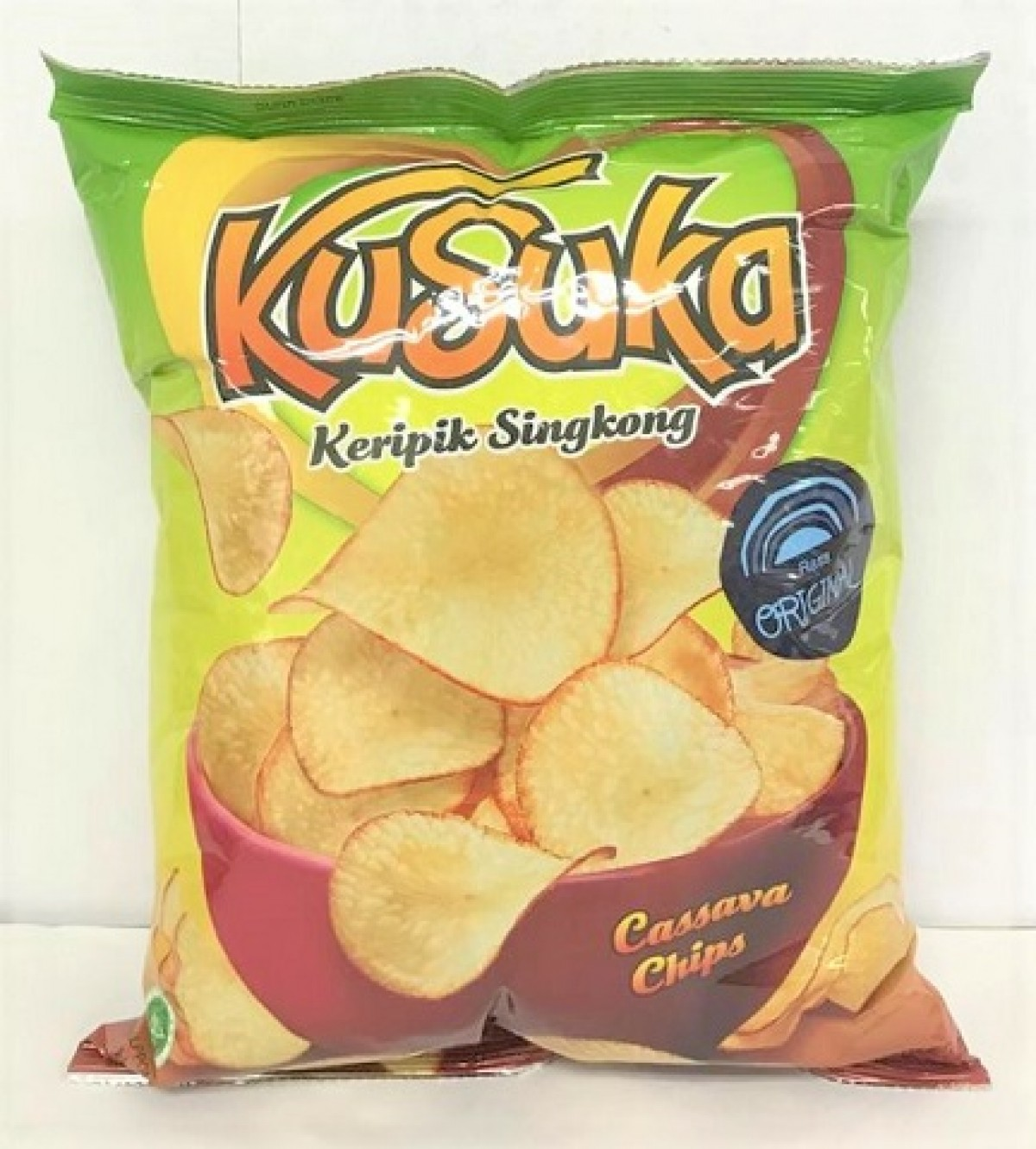 KUSUKA CASSAVA CHIPS - ORIGINAL 180G - Kanpeki