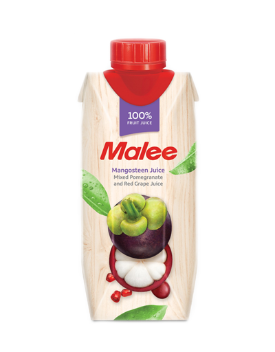 (MALEE F.JUICE) MANGOSTEEN 330ML - Kanpeki
