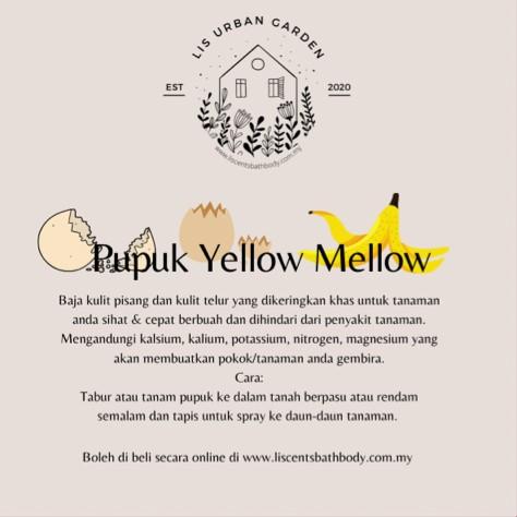 Pupuk Yellow Mellow (Baja)