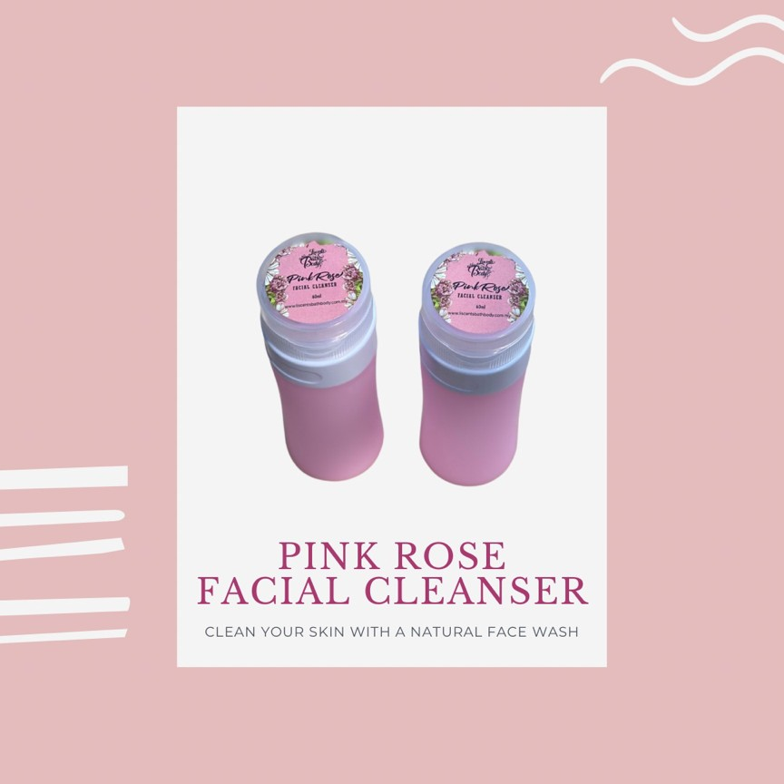 PINK ROSE Facial Cleaser