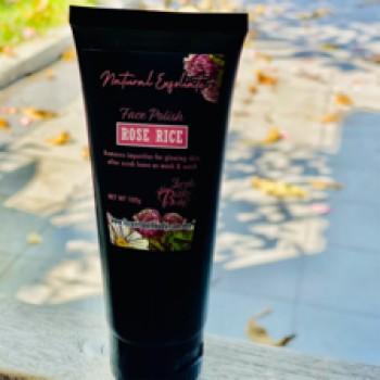 Rose Rice Face Polish