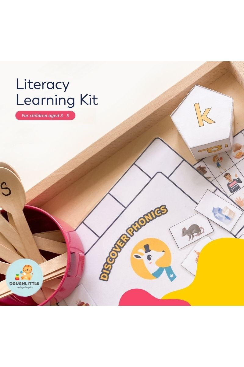 Literacy Kit (Ages 3-5)