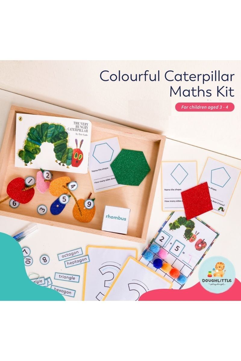 Colourful Caterpillar Maths Kit (Ages 3-4)