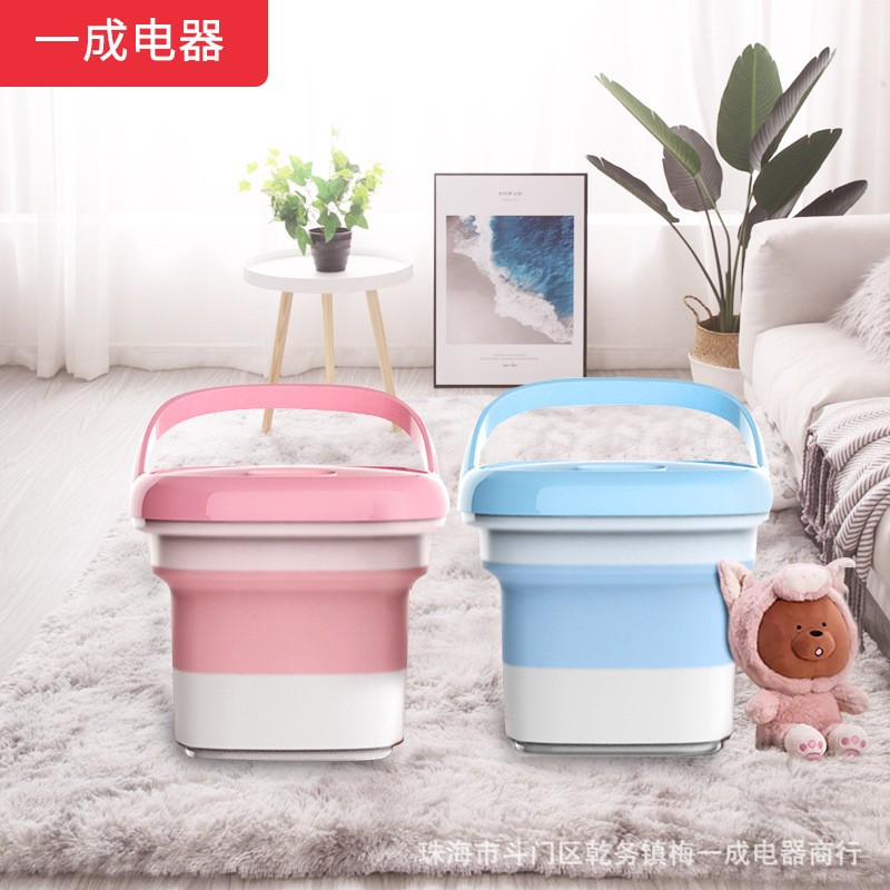 Mesin Cuci Lipat Mini Portable Otomatis Untuk Rumah