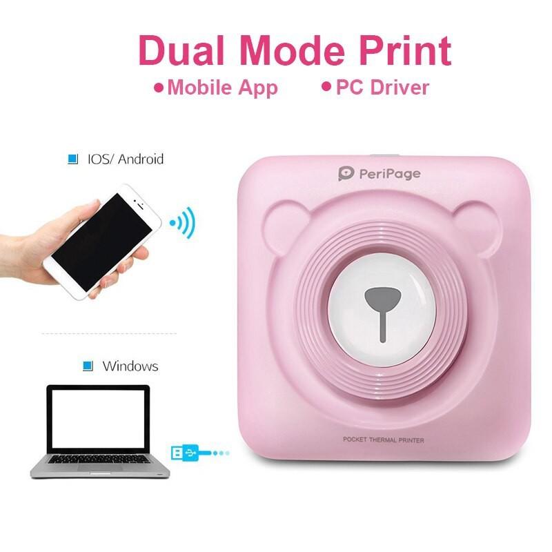 Peripage A6 Bluetooth 203 dpi Mini Pocket Thermal