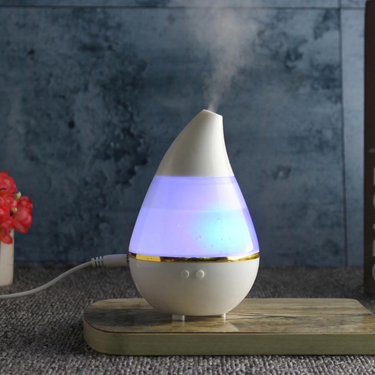 Water Drop Ultrasonic Humidifier Diffuser 7 Color LED - Bunda Ina Shop
