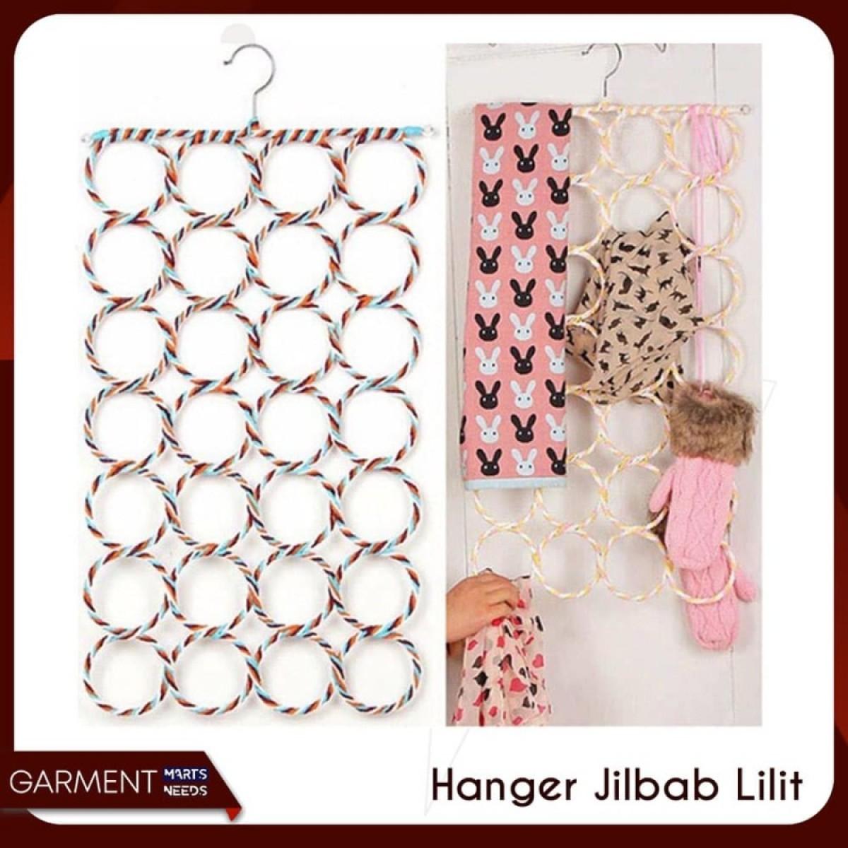 HANGER JILBAB SYAL 28 RING - Bunda Ina Shop