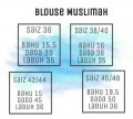 BLOUSE MUSLIMAH - C8 - Aiman Collection