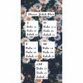 JUBAH PLAIN COMOCREPE - PURPLE - Aiman Collection