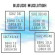 BLOUSE MUSLIMAH - LIGHT PURPLE - Aiman Collection