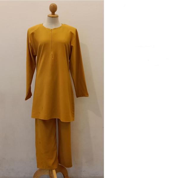 SET EAMAN MINI - MUSTARD - Aiman Collection