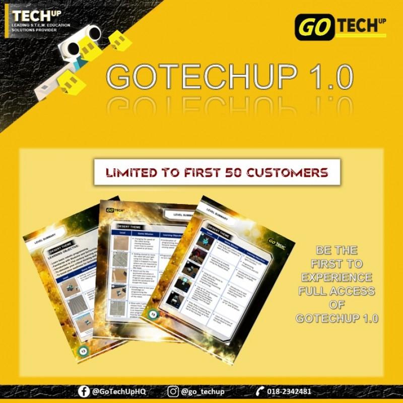Go TechUp Software Version 1 - Starter Kit