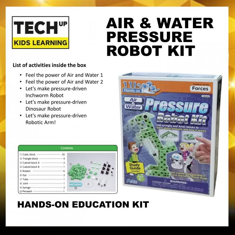 Artec Science Kit : Air & Water Pressure Robot Kit