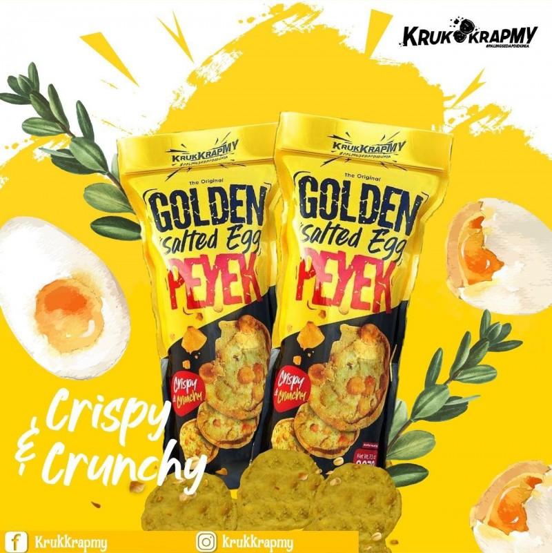 PRE-ORDER Golden Salted Egg PEYEK (Combo 3 Pack)