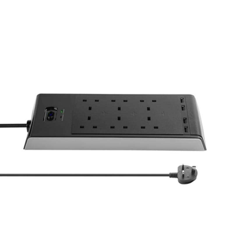 Targus SmartSurge 4 with 2 USB Ports - VEVE