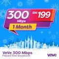 VEVE 300 Mbps Business Fibre (1 Month) - VEVE