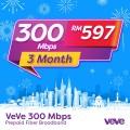 VEVE 300 Mbps Home Fibre (3 Months) - VEVE