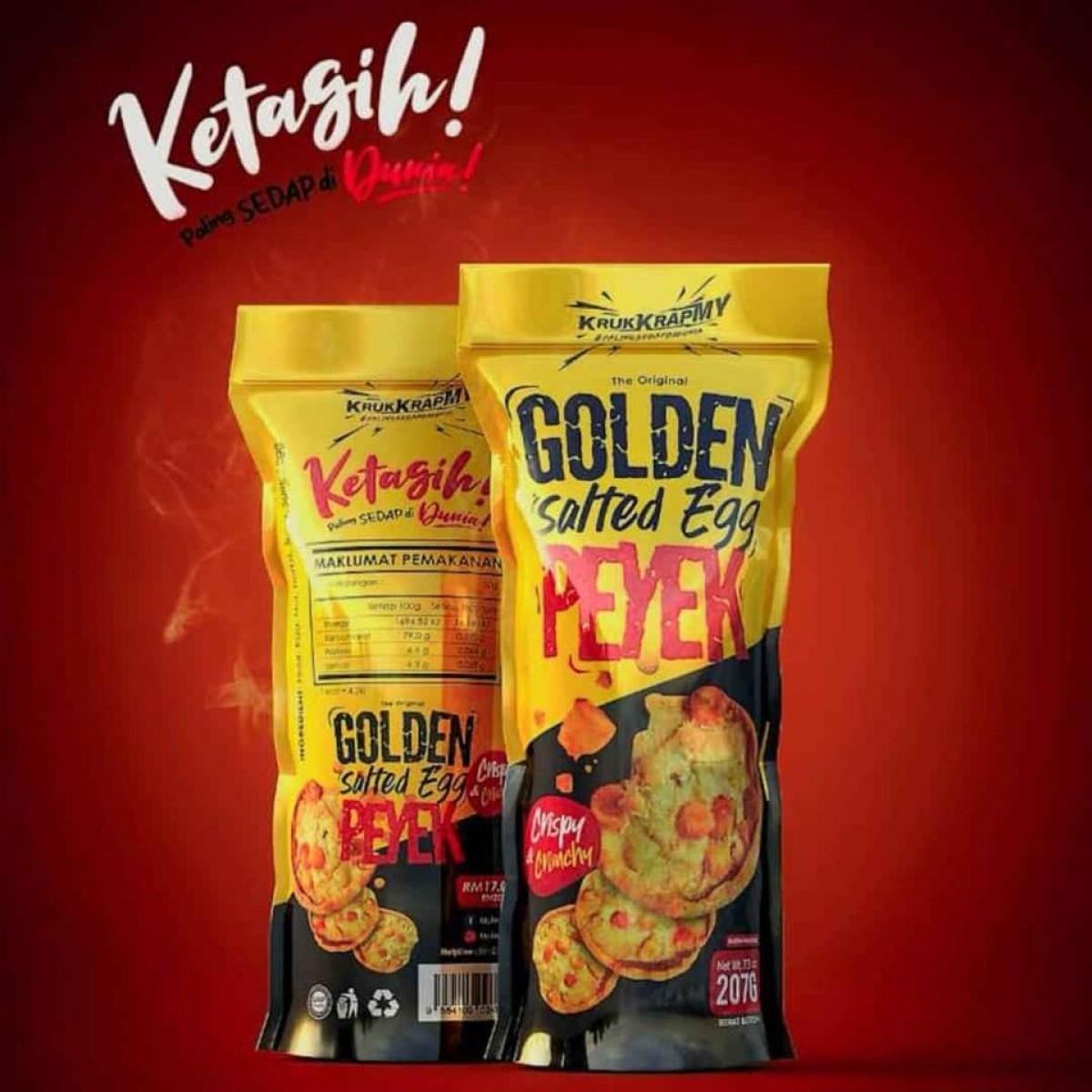 PRE_ORDER Golden Salted Egg PEYEK Combo (3 pack) - VEVE