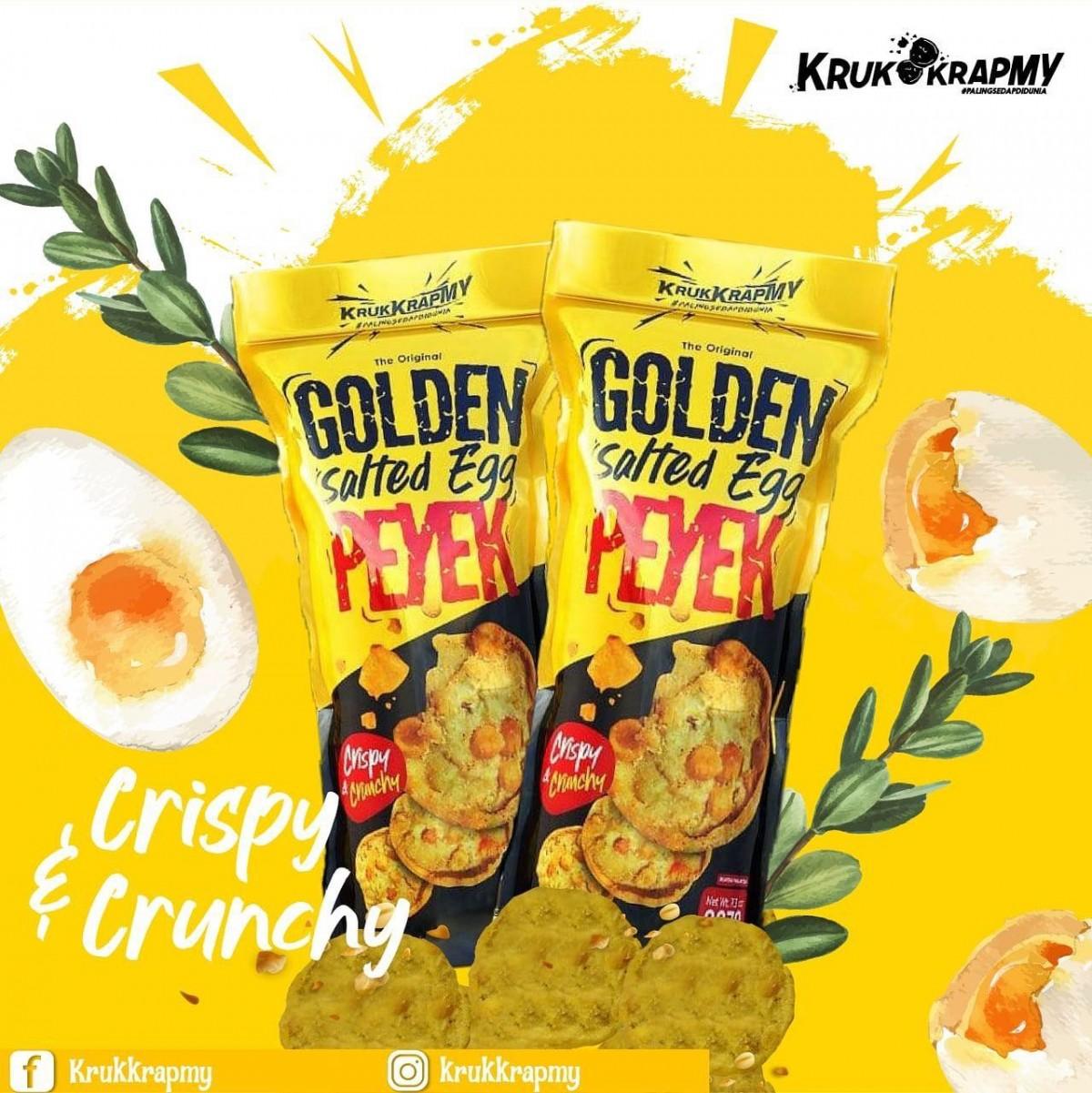 PRE-ORDER Golden Salted Egg PEYEK (Combo 3 Pack) - VEVE