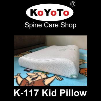KOYOTO K-117 Memory Foam Children Contour Pillow