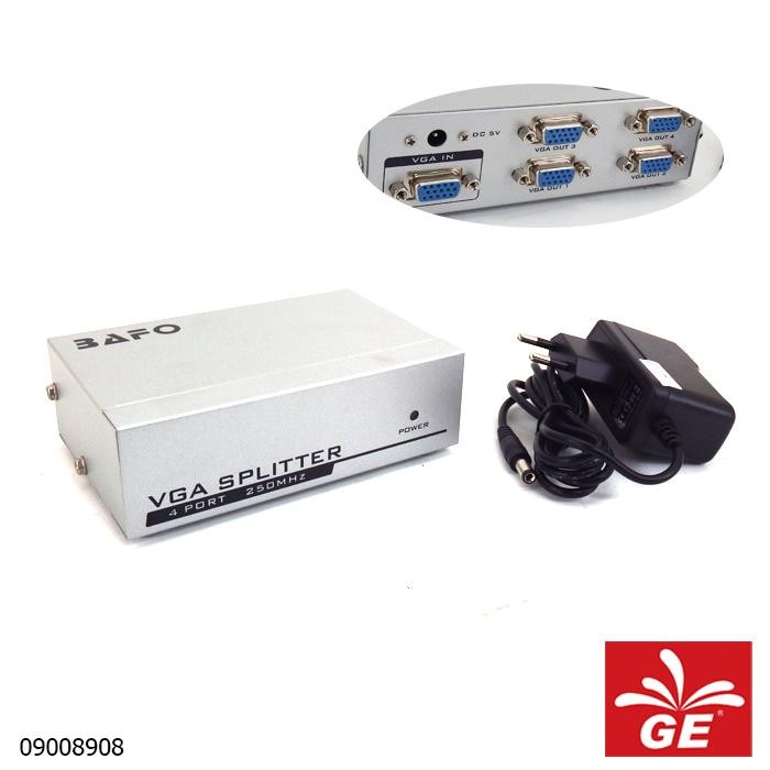 Port VGA Splitter BAFO A5-0003B9-001 4Port 09008908