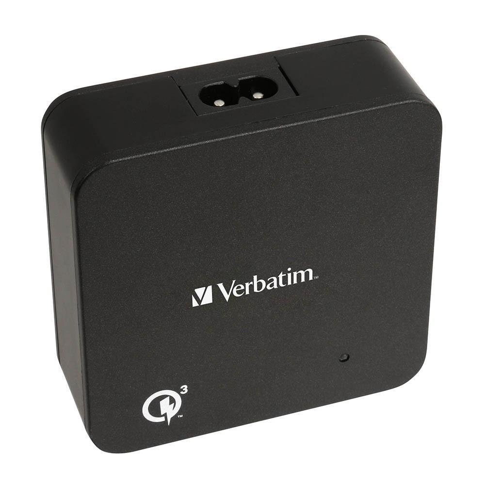 Adaptor VERBATIM 65396 5 Ports Multi Charger Qualcomm 3.0