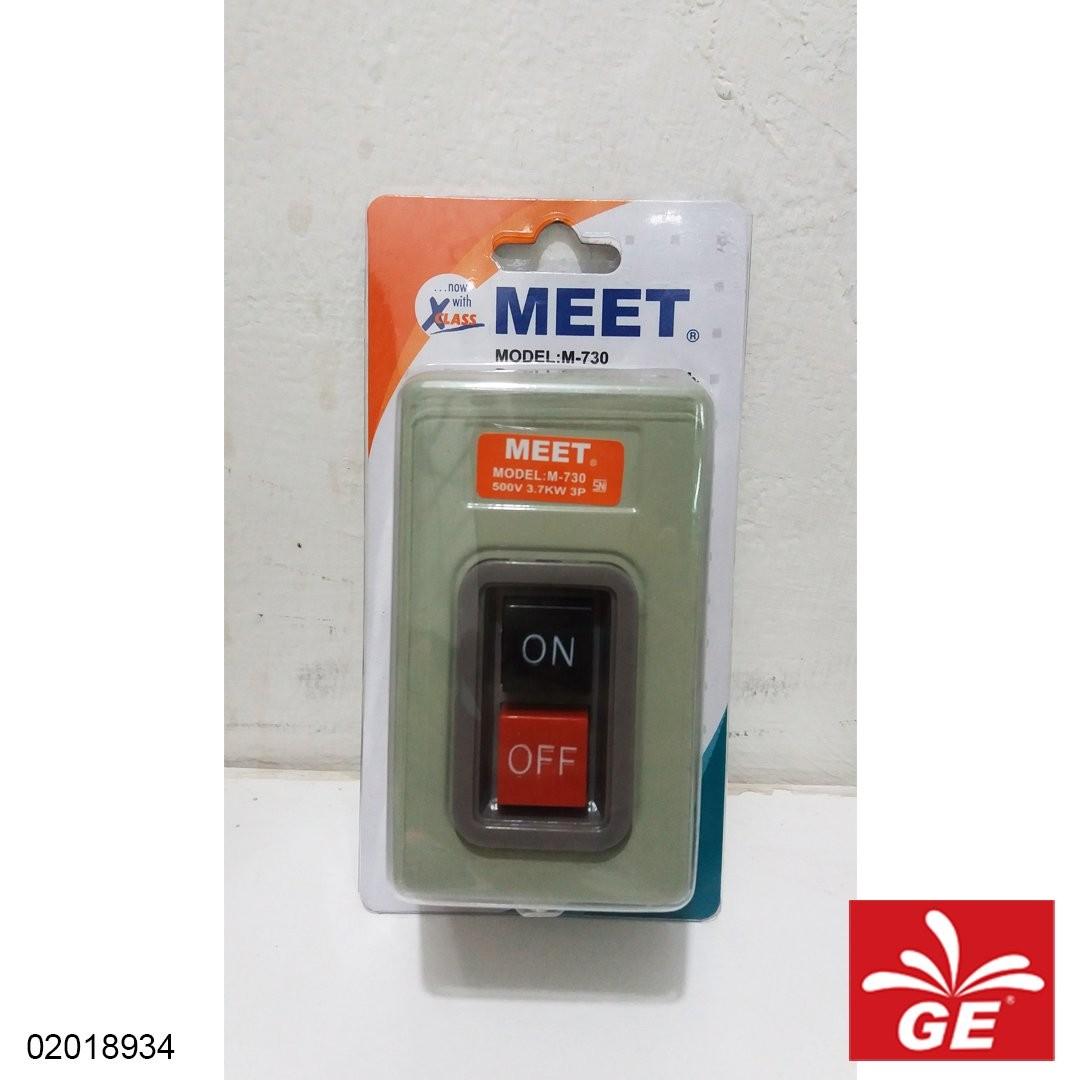 Saklar Power Button MEET M-730 02018934