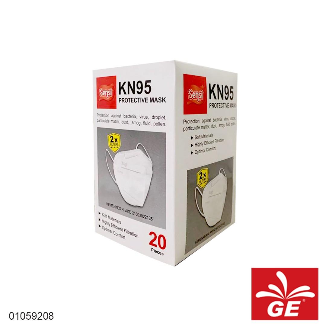 Masker SENSI KN95 Protective Mask 01059208