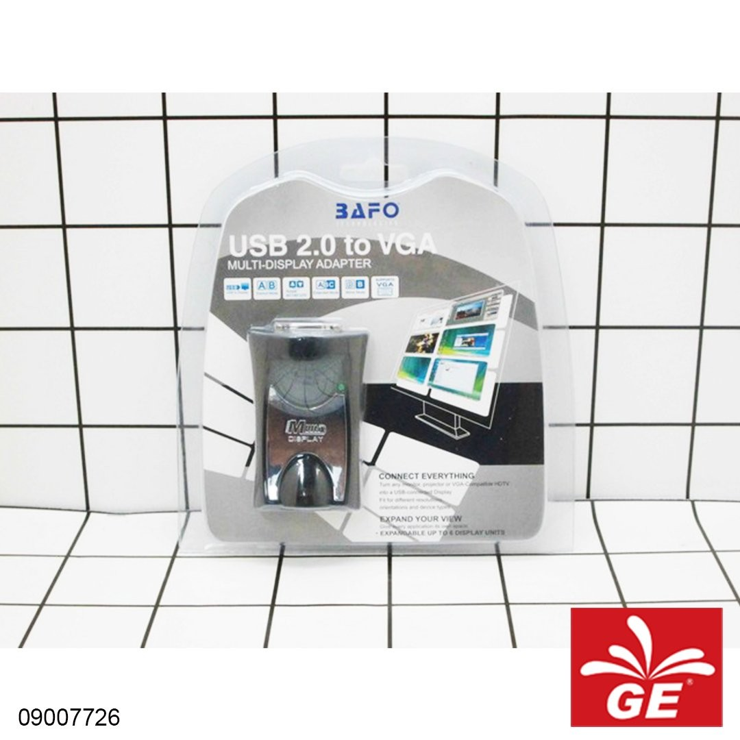 Adapter BAFO BF-4918 USB 2.0 to VGA 09007726