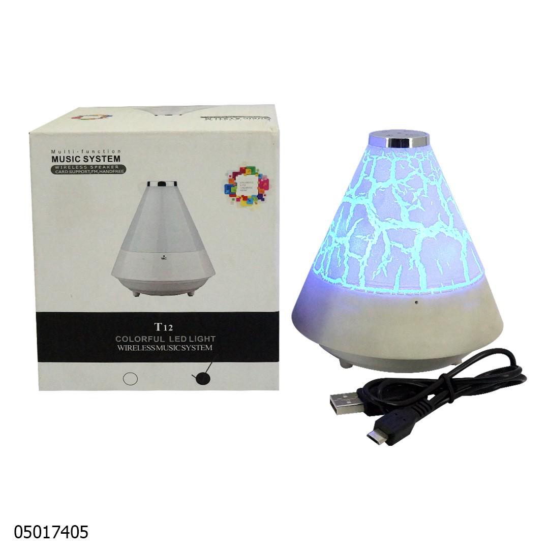 Speaker Bluetooht T12 Colorful Light 05016155