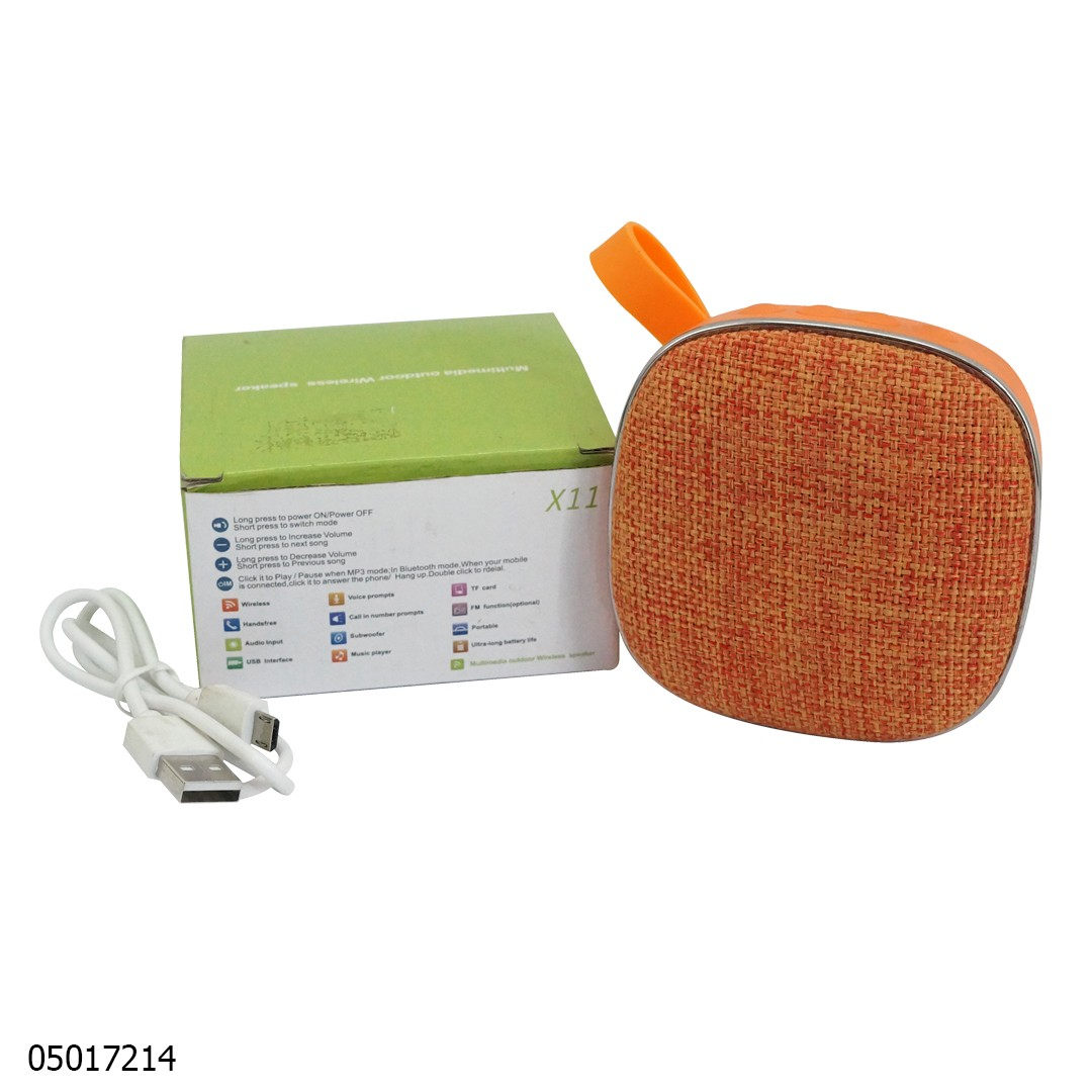 Speaker X11 Mini Bluetooth Oranye 05017214