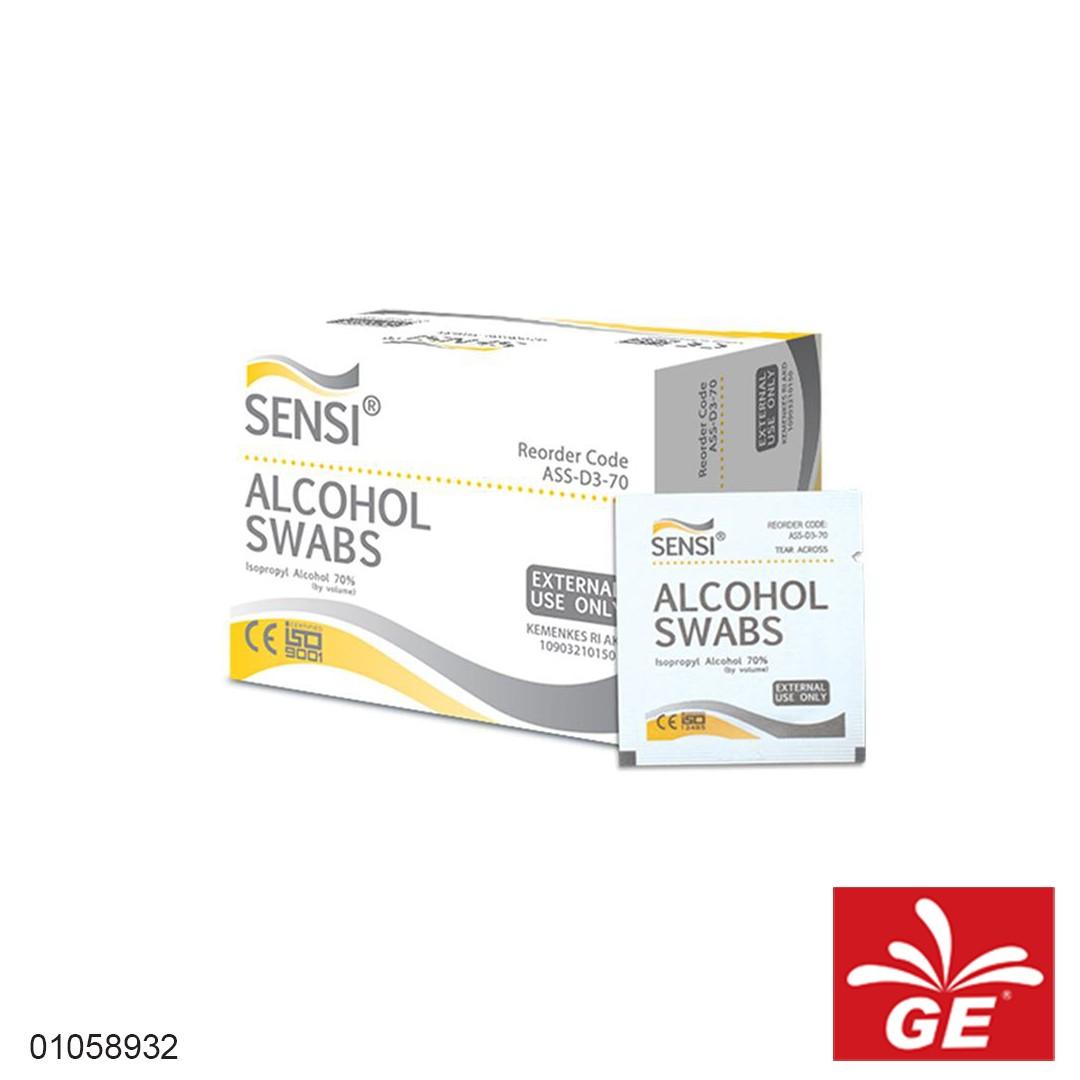 Tissue SENSI Alcohol Swabs 100sheets 01058932