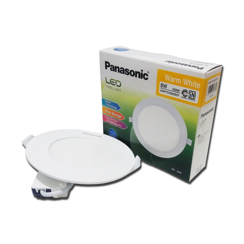 Lampu Downlight LED PANASONIC NNP 722563031 Warm White 8W 105mm