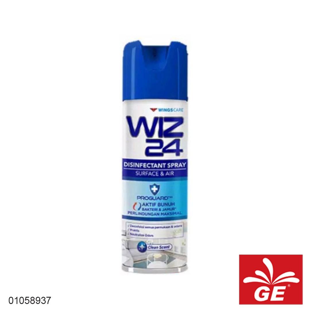 Disinfektan Spray WIZ24 Clean Scent 300ml 01058937