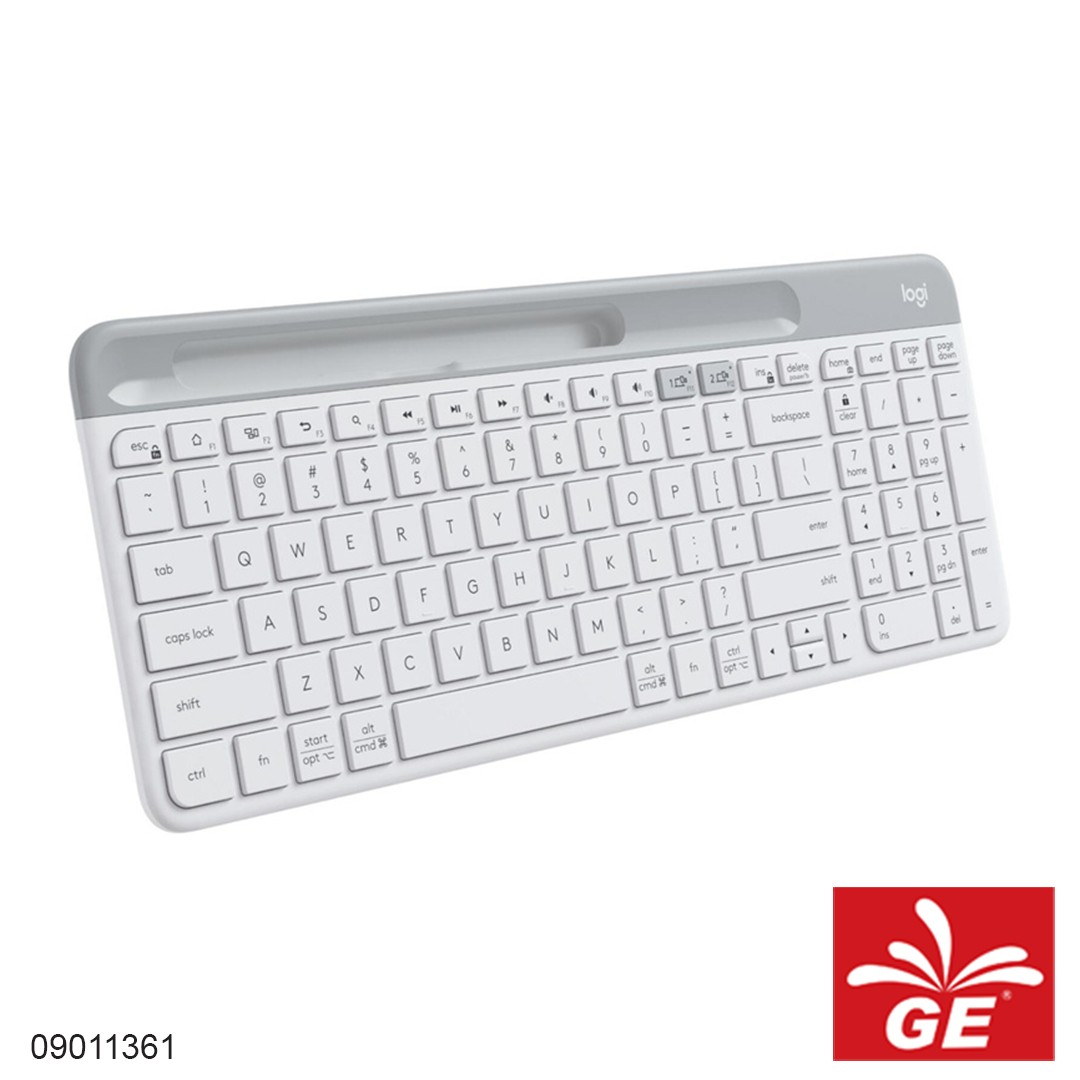 Keyboard LOGITECH K580 Putih 09011361
