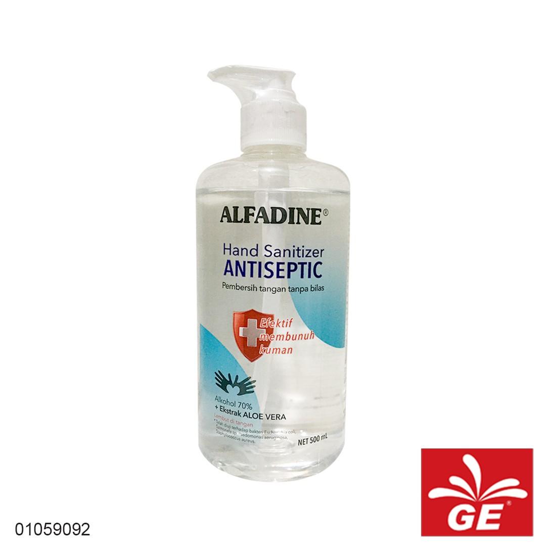Hand Sanitizer ALFADINE Liquid Antiseptic 500ml 01059092