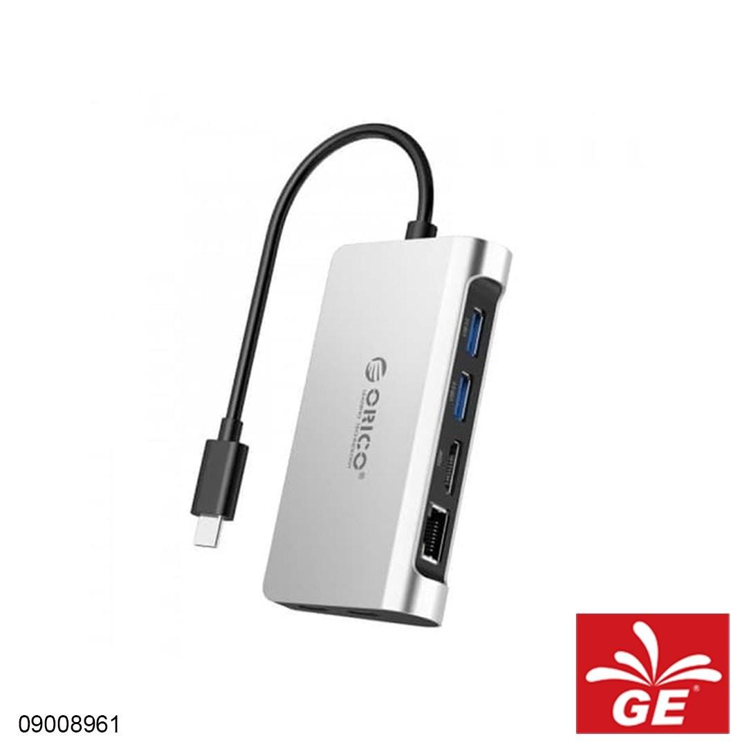 USB Hub ORICO CLH-X3 Type-C USB3.0 RJ45 HDMI Type-A 09008961