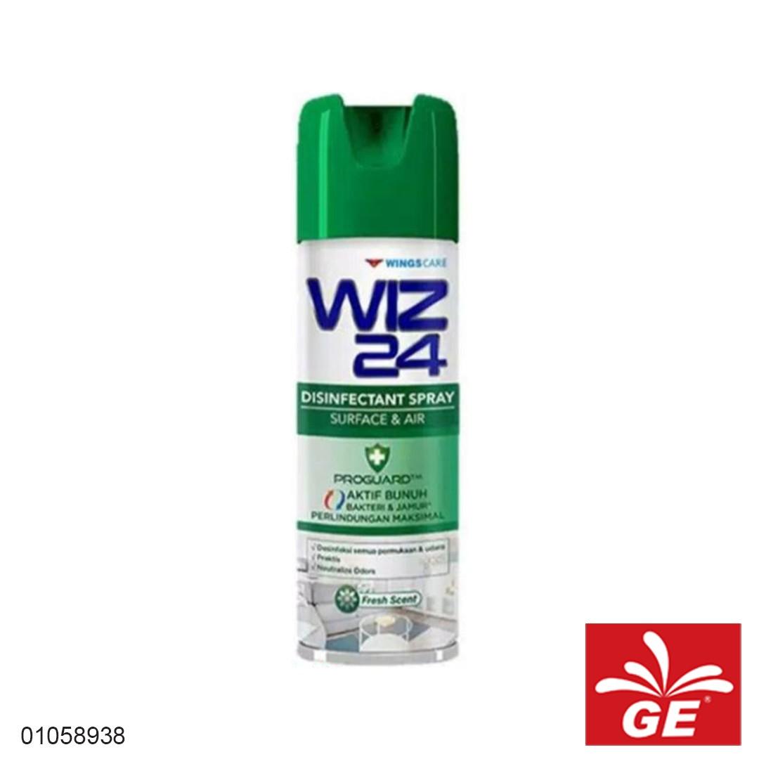 Disinfektan Spray WIZ24 Fresh Scent 300ml 01058938
