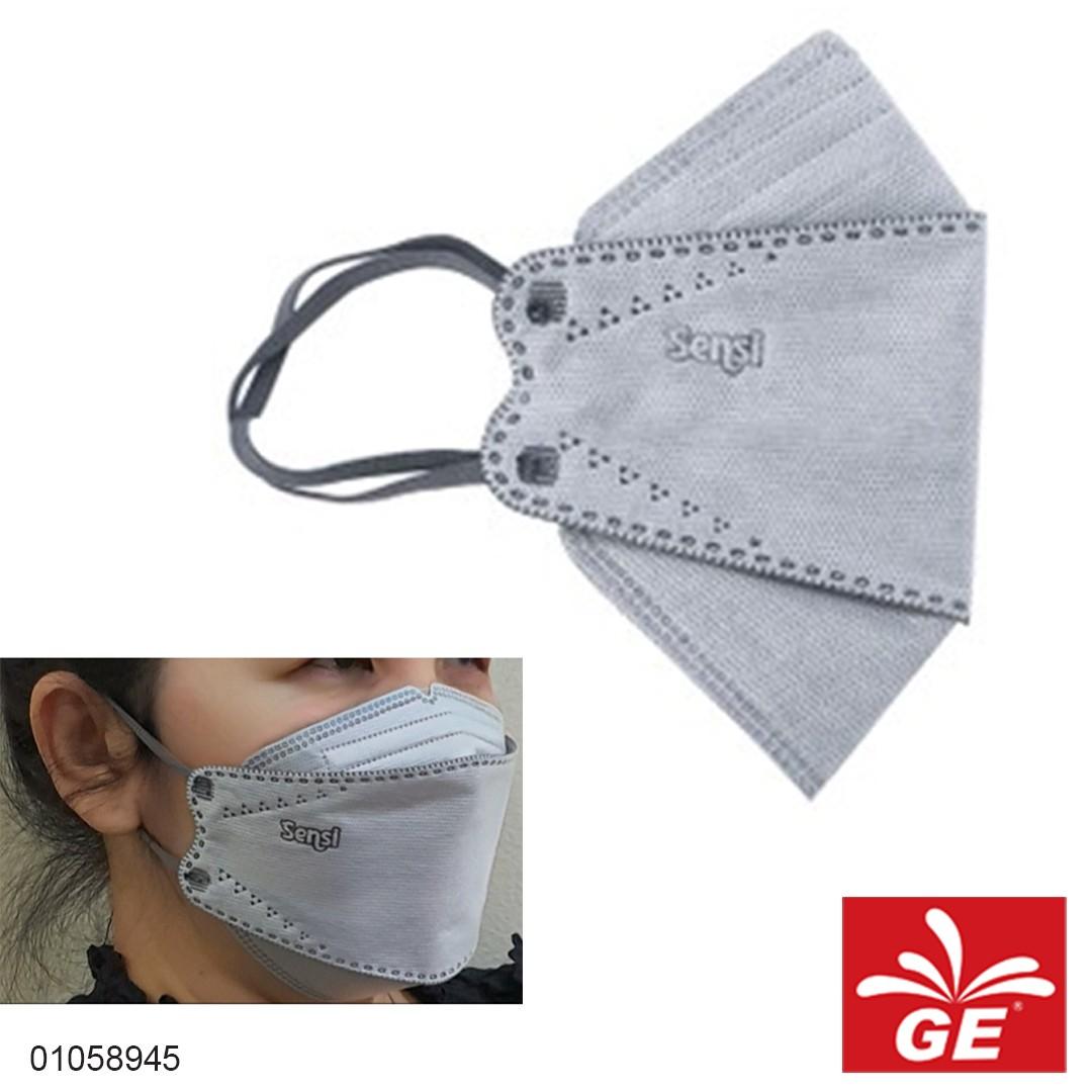 Masker SENSI Convex Mask Abu-abu 01058945