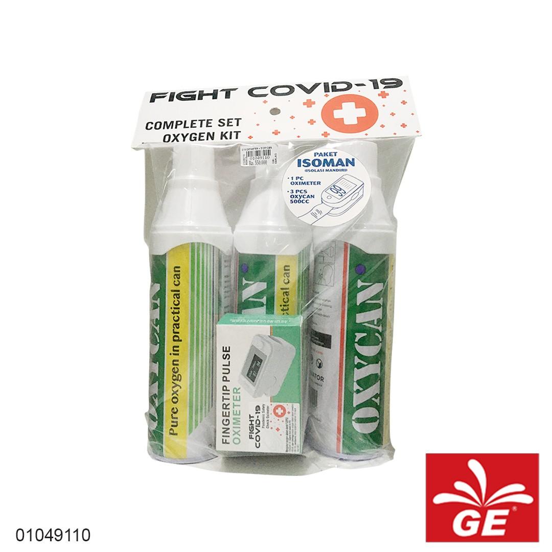 Paket Isoman 3 OXYCAN & 1 Oximeter 01049110