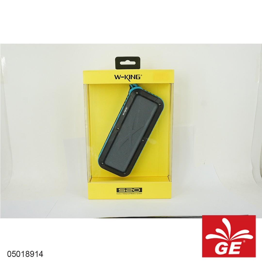 Speaker Mini W-KING S20 B Biru 05018914